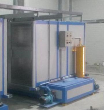 Linie de degresare-fosfatare in cabine