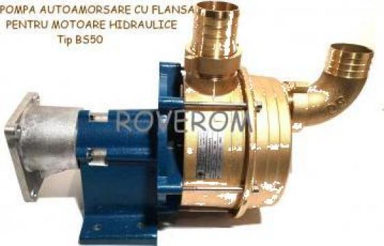 Pompa autoamorsare cu flansa pentru motoare hidraulice de la Roverom Srl