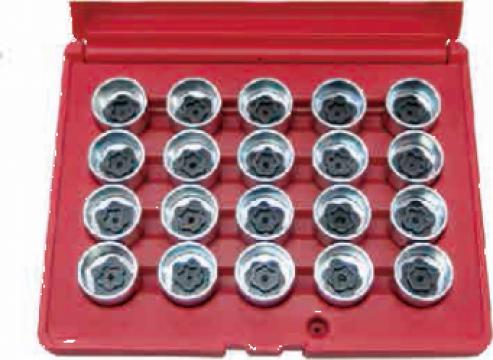 Trusa cu chei speciale pentru suruburi antifurt BMW (20buc.) de la Zimber Tools