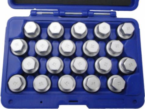 Trusa cu chei speciale pentru suruburi antifurt Porsche de la Zimber Tools
