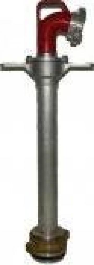 Hidrant portativ DN100 cu o iesire B