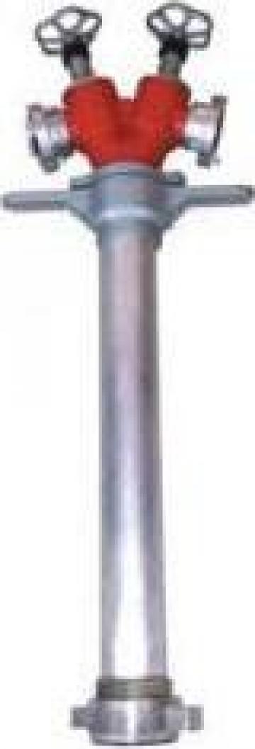 Hidrant portativ DN80 cu doua iesiri C