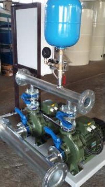 Grup pompare hidranti - 2 x 36 mch, la 65 mCA de la Master Engineering Srl