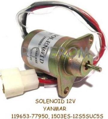 Solenoid 12V, Yanmar 3TNE68, 3TNE84, 3TNE88, 4TNE84