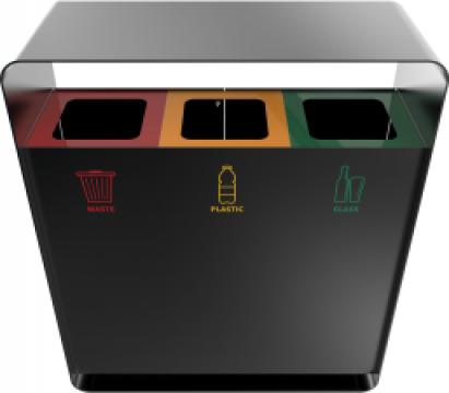 Cosuri de gunoi din metal Arizaro PC de la Forward Support Srl