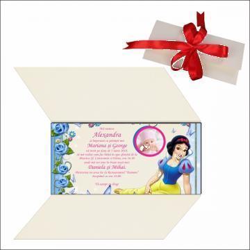 Invitatii botez carton premium de la Best Media Style Srl