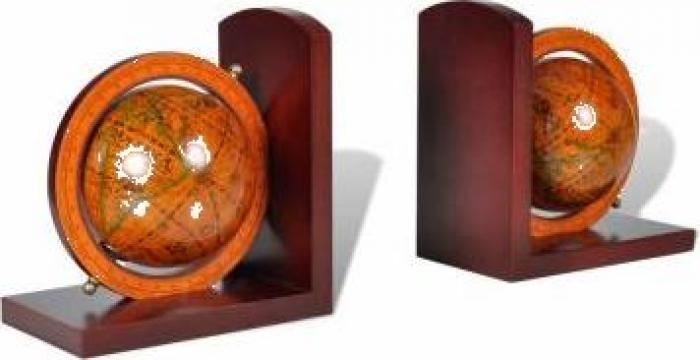 Set clasic capete de raft pentru carti in forma de la Vidaxl