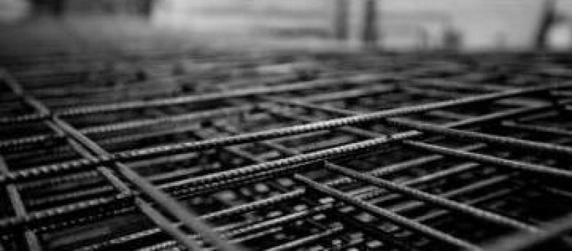 Plase sudate (pentru armarea betonului) de la Electrofrane