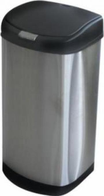 Cos gunoi inox Icikala 55L 70x36x34cm de la Basarom Com