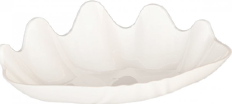 Platou policarbonat prezentare Raki 27x38x5cm alb de la Basarom Com