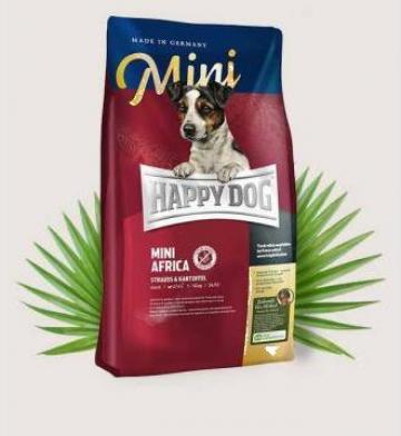 Hrana caini Happy Dog Mini Africa
