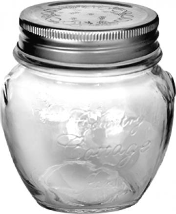 Borcan sticla cu capac 520ml de la Basarom Com