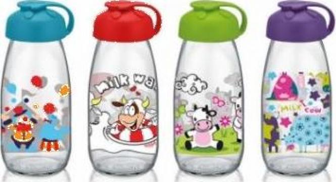 Sticla pentru copii cu decor 250cc de la Basarom Com
