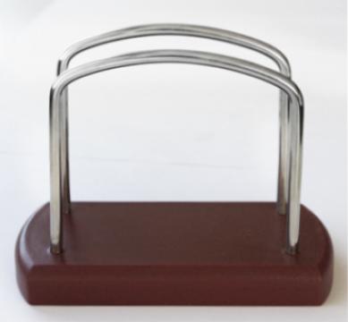 Suport servetele masa MM-500001 culoare cafea de la Basarom Com
