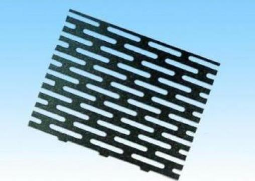 Sita metalica perforata oval de la Electrofrane