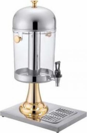 Dispenser, dozator triplu pentru suc aurit Raki de la Basarom Com