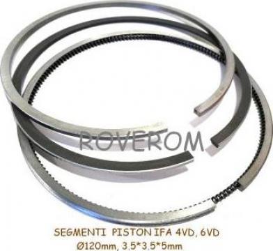 Segmenti piston IFA 4VD14.5, IFA W50, 120mm, 3.5*3.5*5mm