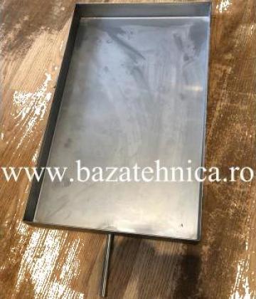 Tava condens inox 1x40x300x500mm de la Baza Tehnica Alfa Srl
