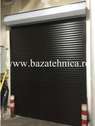 Usa de garaj rulou 1960x2600 mm cu lamele 55 mm de la Baza Tehnica Alfa Srl