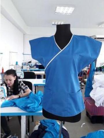 Bluza cu fermoar de la Sc Atelier Blue Srl