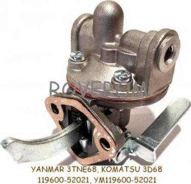 Pompa alimentare Yanmar 2TN66, 2TN68, 3TNE68, Komatsu 3D68