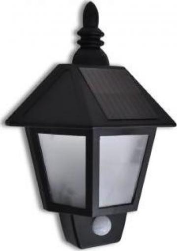 Lampa solara de perete cu senzori miscare de la Vidaxl