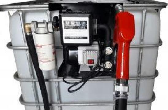 Bazin IBC mobil carburanti pompa motorina de la Gasoil Line Srl Ro 2024580