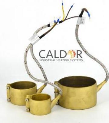 Rezistenta electrica duza Nozzle Heaters 80 x 55 x 700 w de la Caldor Industrial Heating Systems Srl