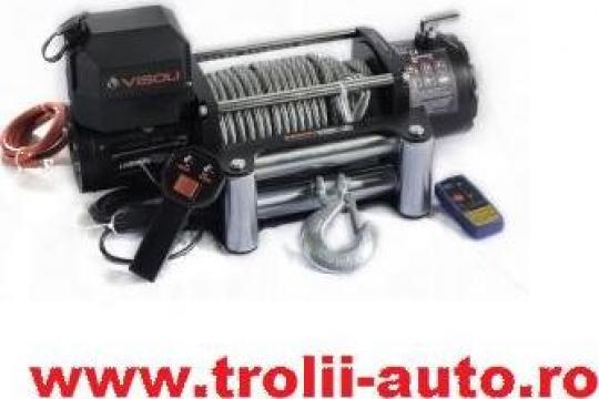 Troliu auto electric 10000lbs/4540kg de la Trolii-auto.ro