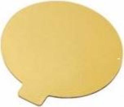 Monoportie carton auriu 7cm, 200 buc/set de la Cristian Food Industry Srl.