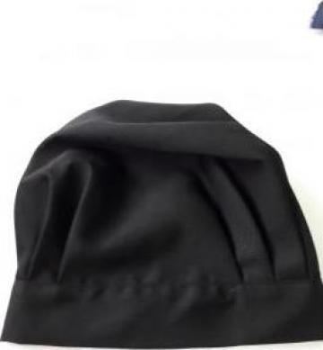 Boneta sef bucatar neagra