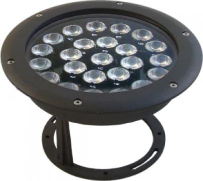Proiector orientabil cu 24 de LEDuri