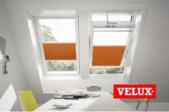 Fereastra de mansarda Velux Premium Solara GGU 006630 de la Sc Ellcor Roof Srl-d