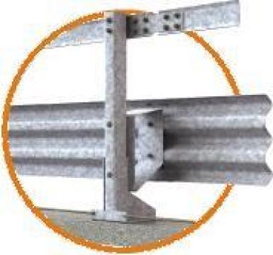 Parapet de pod clasa H2 3 ondulatii W5 de la Electrofrane