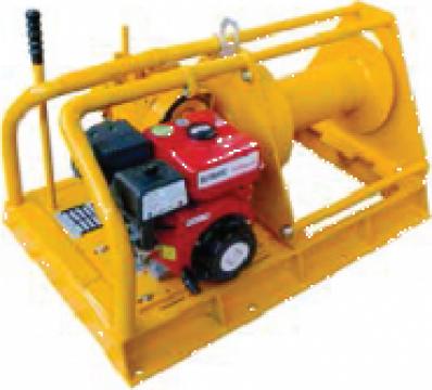 Troliu electric cu motor diesel 500 Kg