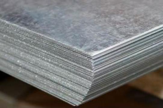 Tabla lisa din otel zincat 1250x2500 mm de la Electrotools