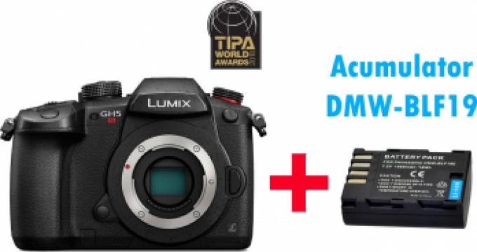 Camera foto digitala Panasonic Lumix DC-GH5S Mirrorless MFT de la West Buy SRL