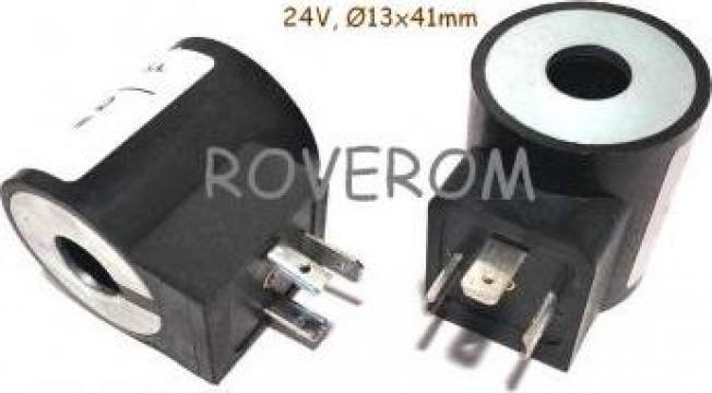 Bobina 24V, D13x41mm, electrovalva hidraulica de la Roverom Srl