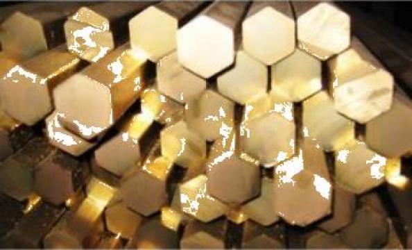 Bare hexagonale alama CuZn39Pb3 de la Electrotools