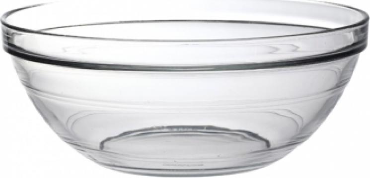 Bol rotund sticla termorezistenta Duralex-Lys Stackable 14cm de la Basarom Com