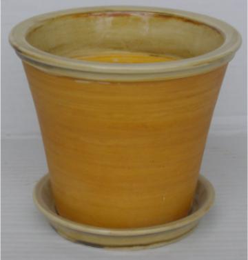 Ghiveci din ceramica pentru flori cu suport 6118