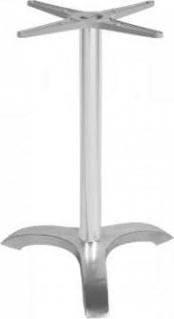 Picior, baza din aluminiu pentru masa Raki 58x58xh72cm