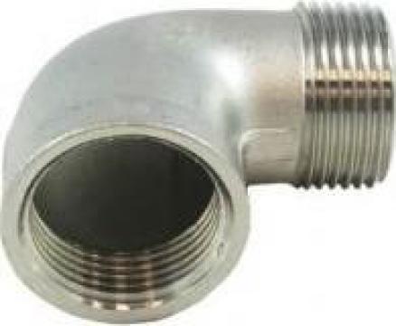 Coturi 90 grade FI-FE BSP din inox 304/316 de la Electrofrane