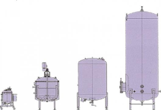 Rezervoare din otel inoxidabil pentru industria alimentara de la Electrofrane
