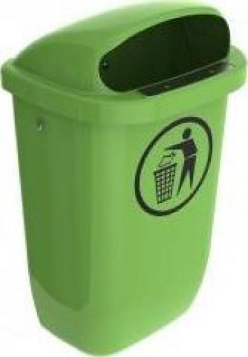 Cos de gunoi stradal 50l verde deschis