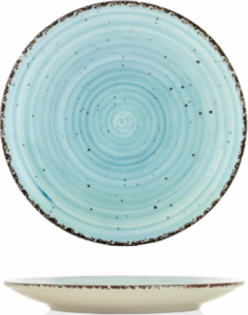 Farfurie desert Gural colectia Turquoise 19cm de la Basarom Com