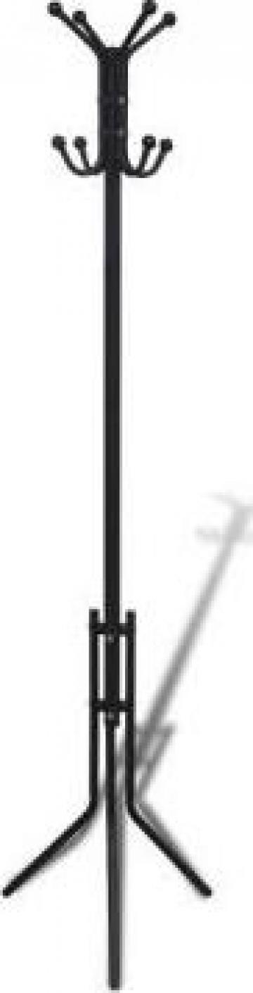 Cuier metal negru de la Vidaxl