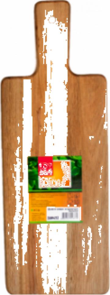 Platou lemn salcam, servire-prezentare Raki 35x12x1,5cm de la Basarom Com