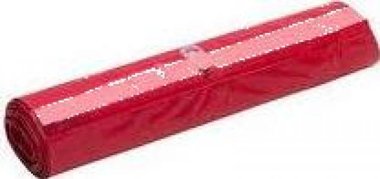 Saci menaj rosii 120 litri de la Adimex Cleaning Srl
