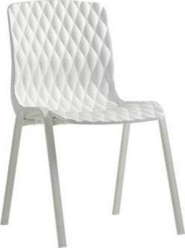 Scaun terasa Royal alb 52x50xh83cm de la Basarom Com